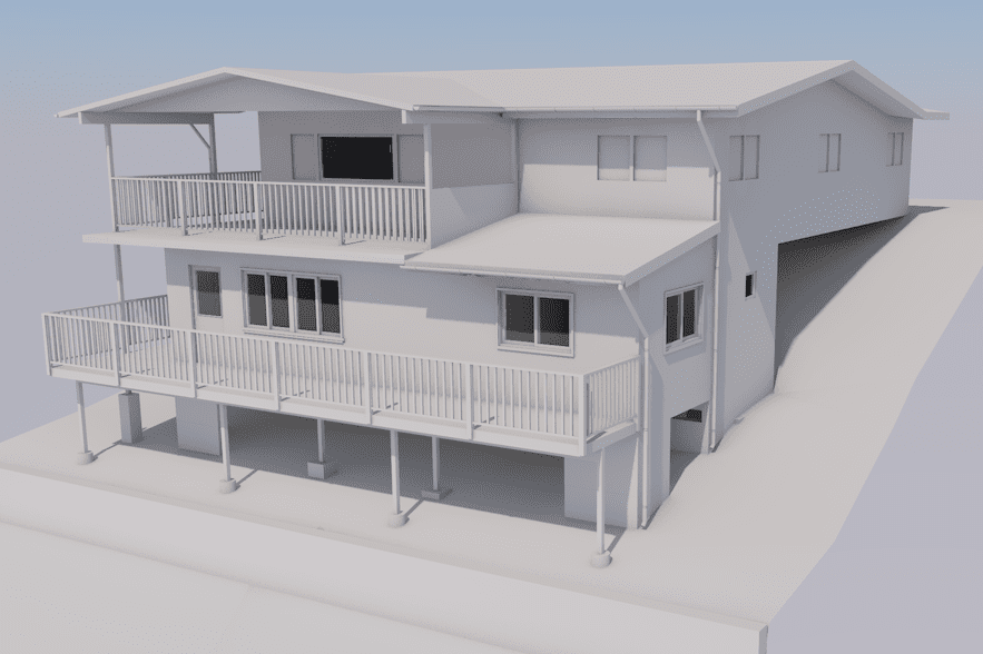 James Kane, Architectural Draftsman produced this CAD model